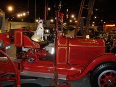 Firetruck Mascot