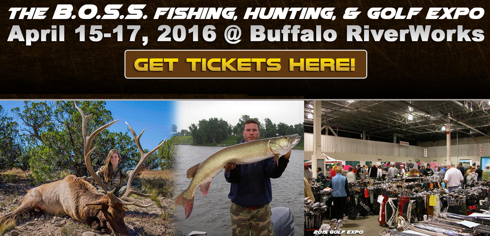 The boss expo series community calendar great lakes for Hunt and fish club nyc