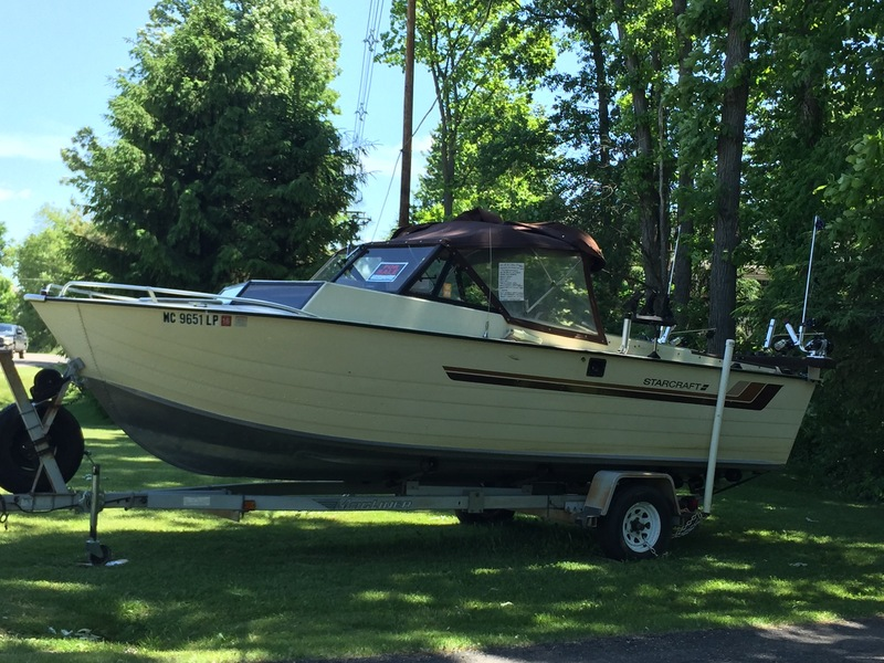 For sale 1984 starcraft boat for sale price reduced for Walleye fishing boats for sale