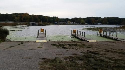Port sheldon 10 28 16 conditions michigan waters fishing for Sheldon lake fishing