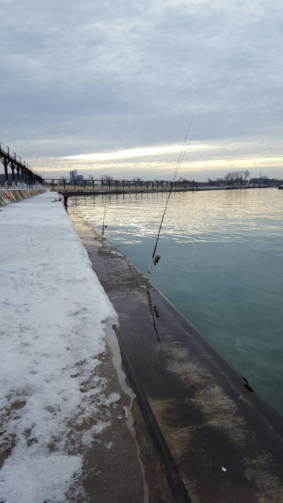 Piers lake michigan pier and river reports great lakes for St joseph michigan fishing report