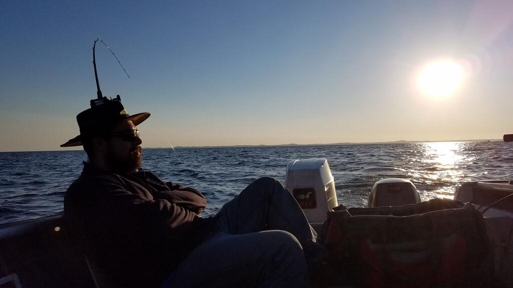 Ludington 6-8 am - Michigan Waters Fishing Reports - Salmon